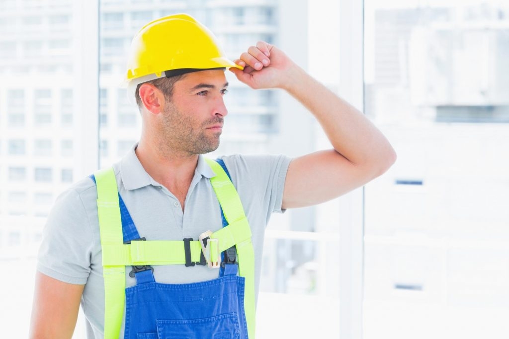 a nice looking worker