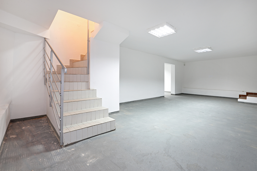 Epoxy Basement Flooring, Garage Flooring, Boca Raton, FLs in the Basement