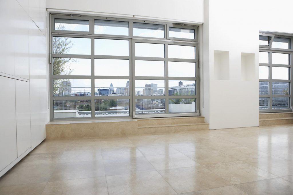 floor built with epoxy
